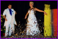 David and Dania QuickChange - Masters of dresses transformation for Master of Magic at Casino de la Vallee Saint-Vincent